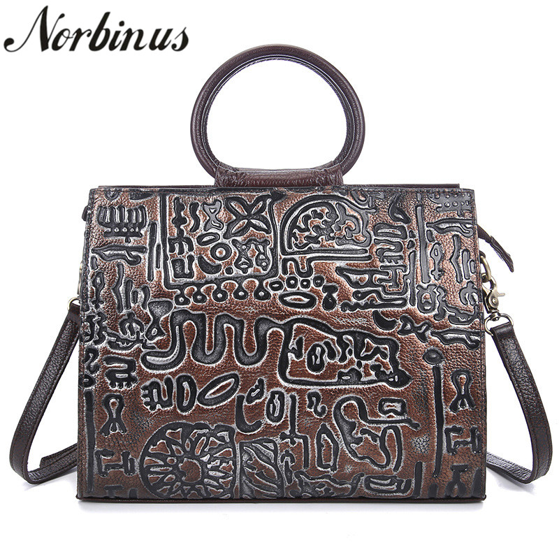 Norbinus 2018 Womens Handbag Genuine Leather Handbags for Women Bags Luxury Designer Messenger Bag Tote Lady Shoulder Bag BolsaNorbinus 2018 Womens Handbag Genuine Leather Handbags for Women Bags Luxury Designer Messenger Bag Tote Lady Shoulder Bag Bolsa