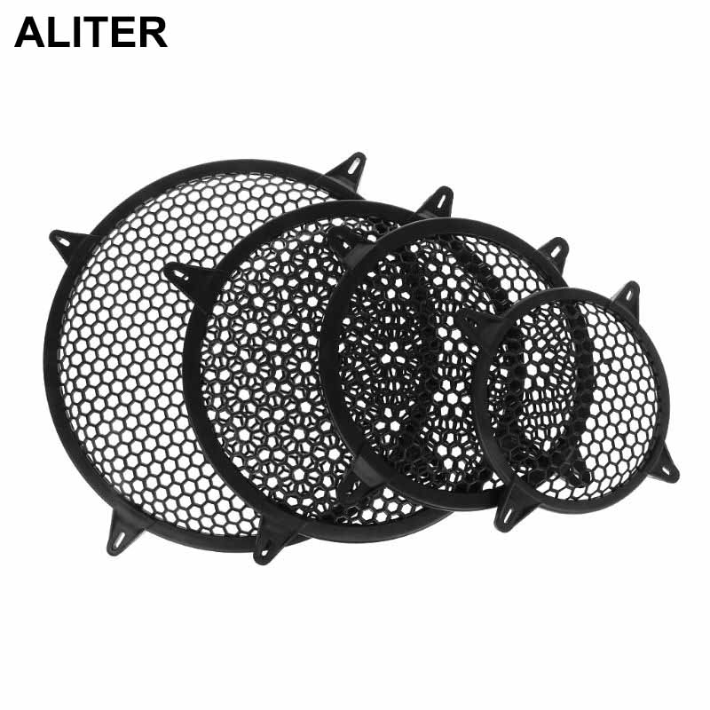 """Universal Subwoofer Grill Grille Guard Protector Cover 6"""" 8"""" 10"""" 12"""" Sub Woofer Car Home Audio Speaker Video-in Speaker Accessories from Consumer Electronics"""