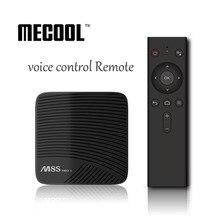 S912 MECOOL M8S PRO L Android 7.1 Amlogic CAIXA de TV núcleo Octa 4 K 3 GB 16 GB/32 GB KODI 17.3 4 K Netflix HD WIFI Bluetooth Smart TV CAIXA