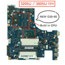 Placa base Original ACLUC3/ACLU4 NM-A361 Rev: 1,0 G50-80 para ordenador portátil Lenovo G50-80 G50 80 PC(China)