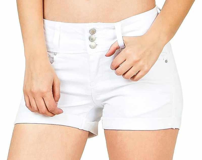 Moda damska marki rocznika pomponem nit zgrywanie luźne dżinsowe szorty z wysokim stanem Punk Sexy Hot kobieta spodenki jeansowe