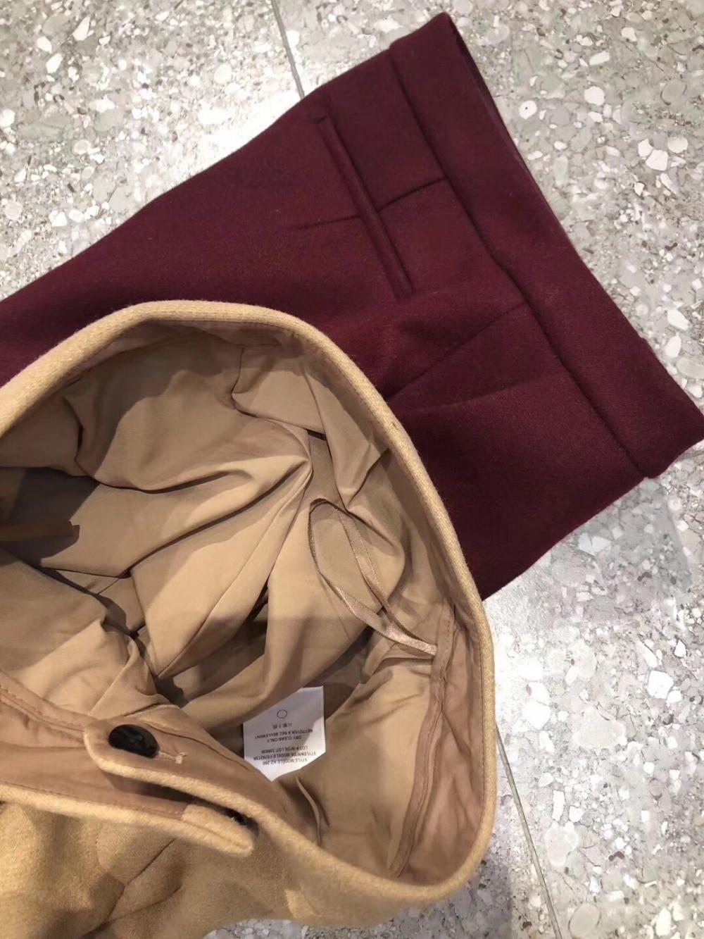 Pantalon Trouse Couleur Casual Femmes Laine 2018 Flare 2 Nouveau Ddxgz3 FIOaqa