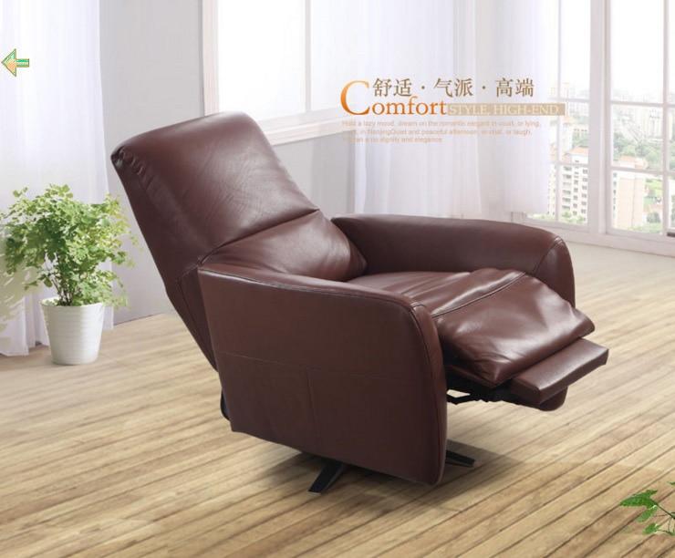 Wohnzimmer Drehstuhl Cadeira Poltrona Echtem Leder Stühle Sillas Fauteuil  Silla Sillon Schaukelstuhl Sessel Cadeiras