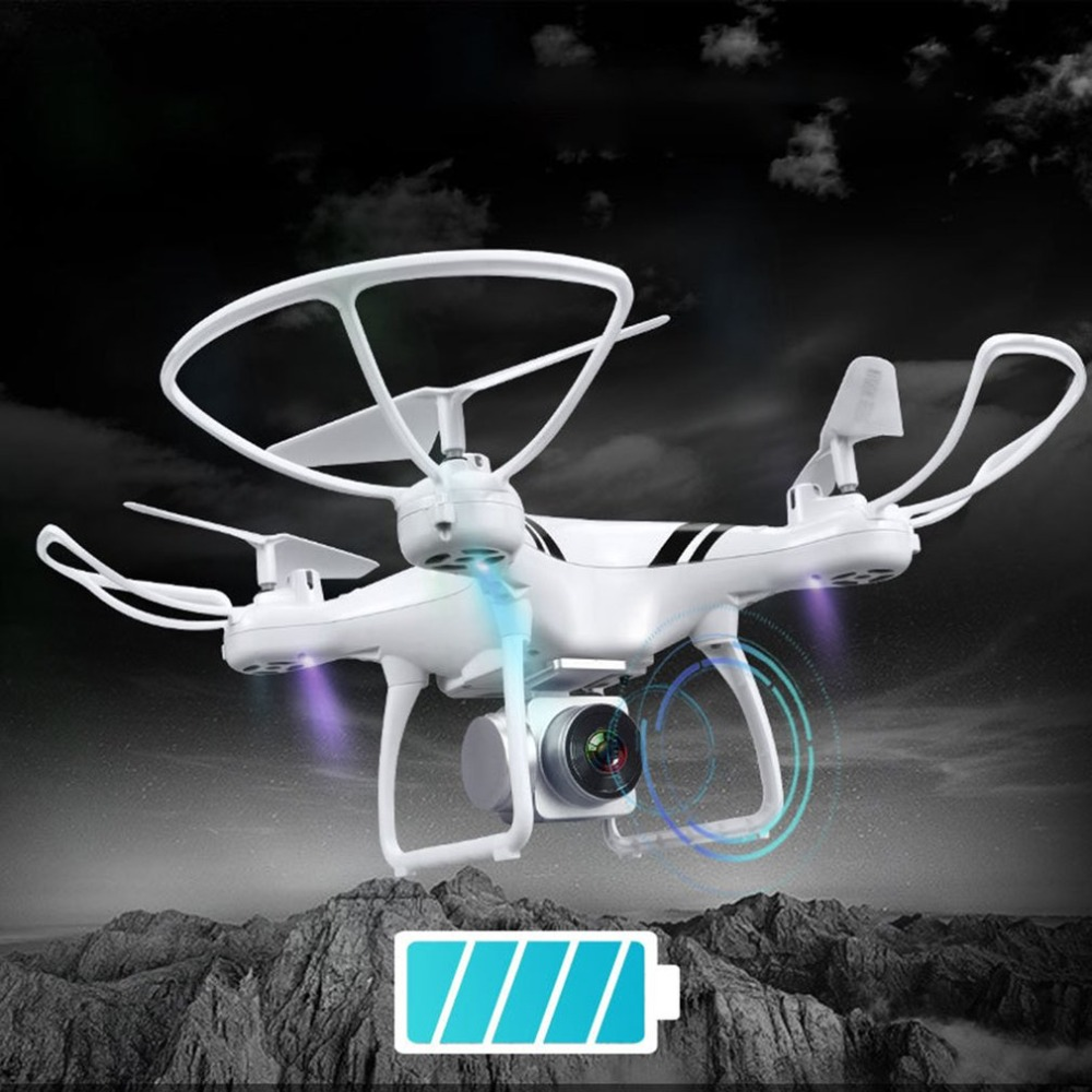 KY101S RC Drone with Wifi FPV 0.3MP HD Adjustable Camera Altitude Hold One Key Return/Landing/ Off Headless RC Quadcopter Drone
