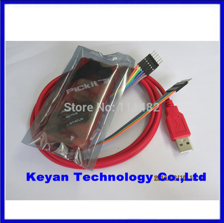 1pcs pickit3 PIC programmer pickit 3 PIC emulator debugger KIT3 stronger than ICD2 KIT2 steady