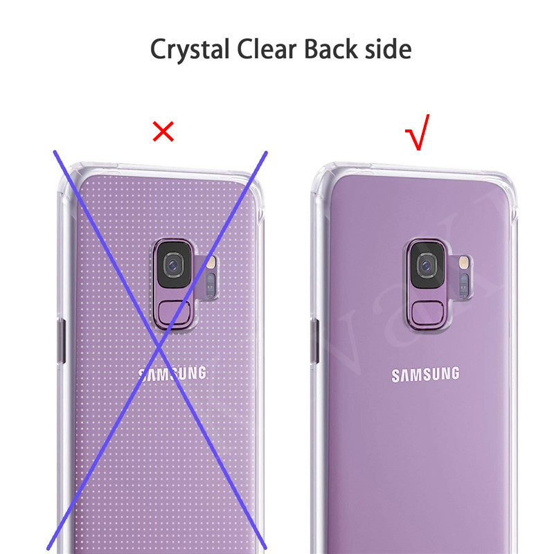 360 Full Protective Phone Case For Samsung Galaxy A10 A30 A40 A50 A70 M10 M20 M30 J4 J6 A8 A6 2018 S7 edge S8 S9 Plus cases