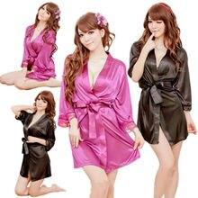 Summer Deep V Neck Nightgown Short Sleeve Lace Nightgown Comfortable Rayon Sleepwear Solid Homewear