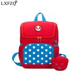 LXFZQ 2 sztuka sac a dos enfant torba szkolna s ortopedyczne plecak plecak szkolny dzieci plecak dla dzieci torba szkolna zaino scuola 1
