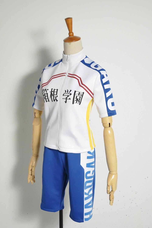 Yowamushi Pedal Hakone members Manami Sangaku Cosplay Costume for boys Racing suits men Tracksuit Custom