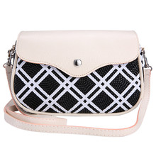 Fashion Women bag Plaid Series Leather Lady Mini Handbag Shoulder Messenger Tote Crossbody bolsa feminina Free shipping
