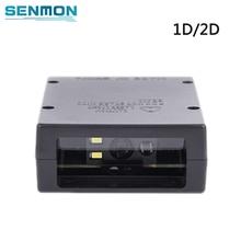 Módulo de escáner de código de barras 2D USB TTL Mini Raspberry PI, lector de código de barras 1D 2D QR, SM MN502 de motor