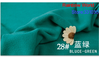 28 Bluce Green 1 Meter Soft Brushed Polar Fleece Fabric For DIY Colthes Stuffed Toys Blanket