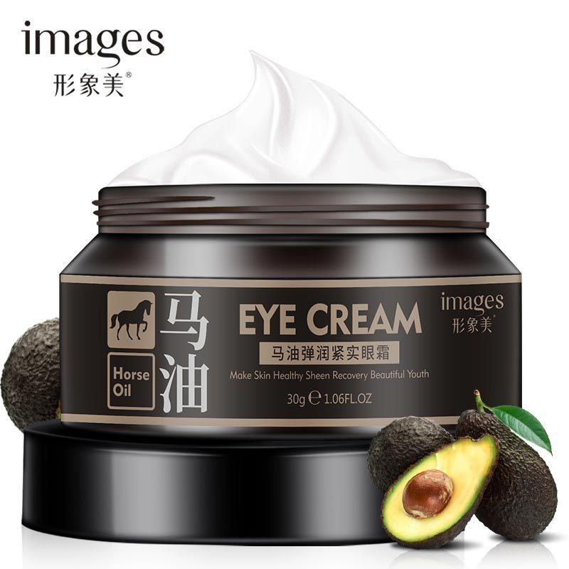 Images Horse Oil Eye Cream Lifting Brighten Firming Eye Drops Remove Dark Circles Anti Puffiness Anti Wrinkles Collagen Eye Gel mabox natural eye gel for appearance of dark circles puffiness wrinkles and bags for under and around eyes eye gel essence gel