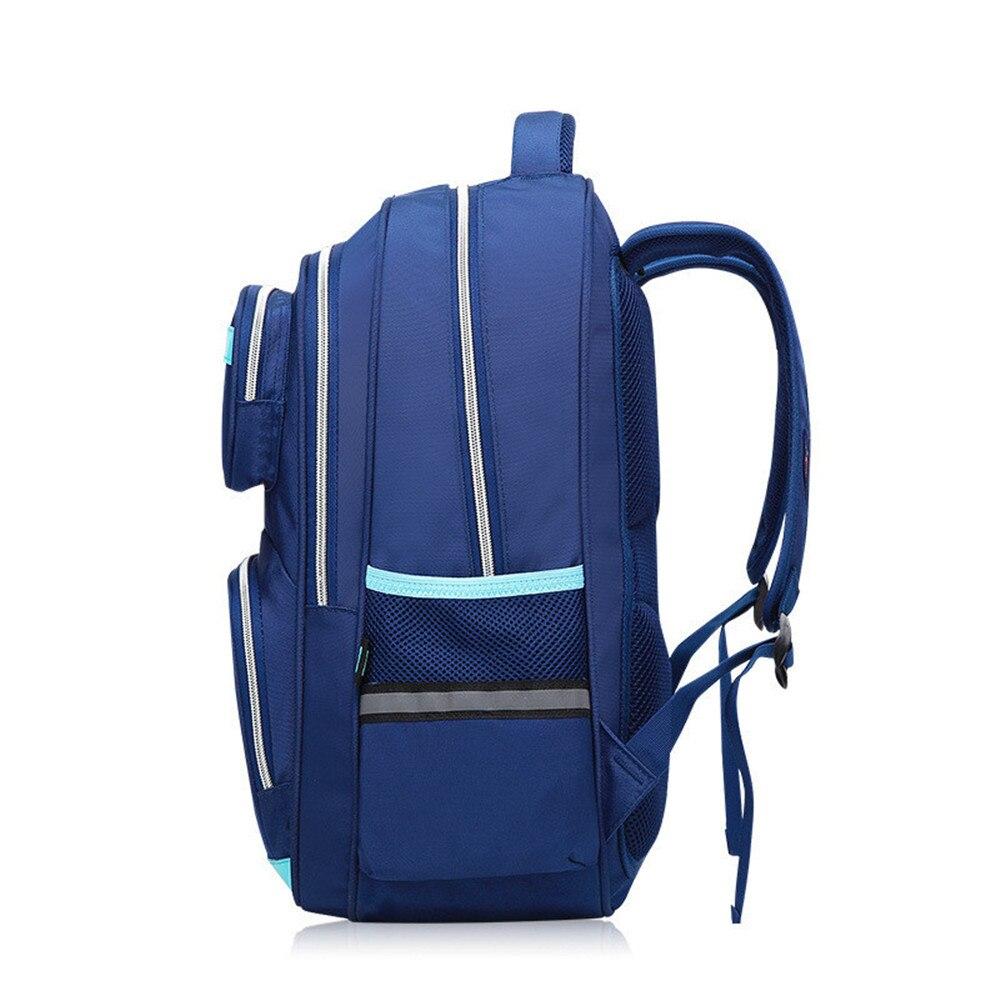 Модные детские школьные сумки студенты нейлон Дети Рюкзак Мульти-карман школьная сумка для мальчиков и девочек Mochila Escolar Infantil