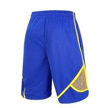 Тонкие секционные дышащие шорты для фитнеса баскетбольные Свободные тренировочные беговые Джерси для соревнований с карманами 3XL размера плюс