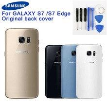 Samsung Original Back Battery Door Glass Cover For Samsung GALAXY S7 Edge G9350 S7 G9300 G9308 Rear Housing Protective Cover стоимость
