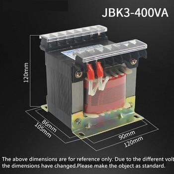 JBK3-400VA Machine Control Transformer 380 Various 220V 110V 28V 24V 6.3V