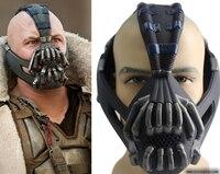 Dark knight mặt nạ bain batman mask trang phục halloween đáng sợ masquerade nạ đảng mặt nạ carnival latex thực tế masquerade