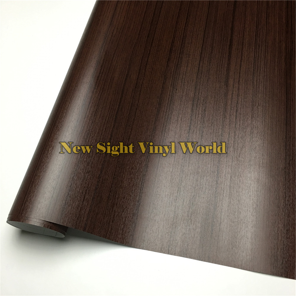 Acacia Wood Textured Grain Decal Vinyl Wrap Film Sticker For Floor Furniture Car Interier Size:1.24X50m/Roll(4ft X 165ft)