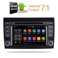 Android 7 1Car DVD Stereo For For Fiat Bravo Headunit Auto Radio GPS Navigation Audio Video