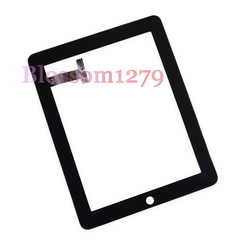 Touch Screen Glass Digitizer Replace for ipad 1 1st Gen A1219 A1337 black