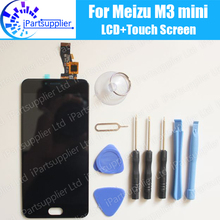 Meizu M3 Mini LCD Display+Touch Screen 100% Original New Digitizer Glass Panel Replacement For Meizu M3 Mini Meilan 3+Tools