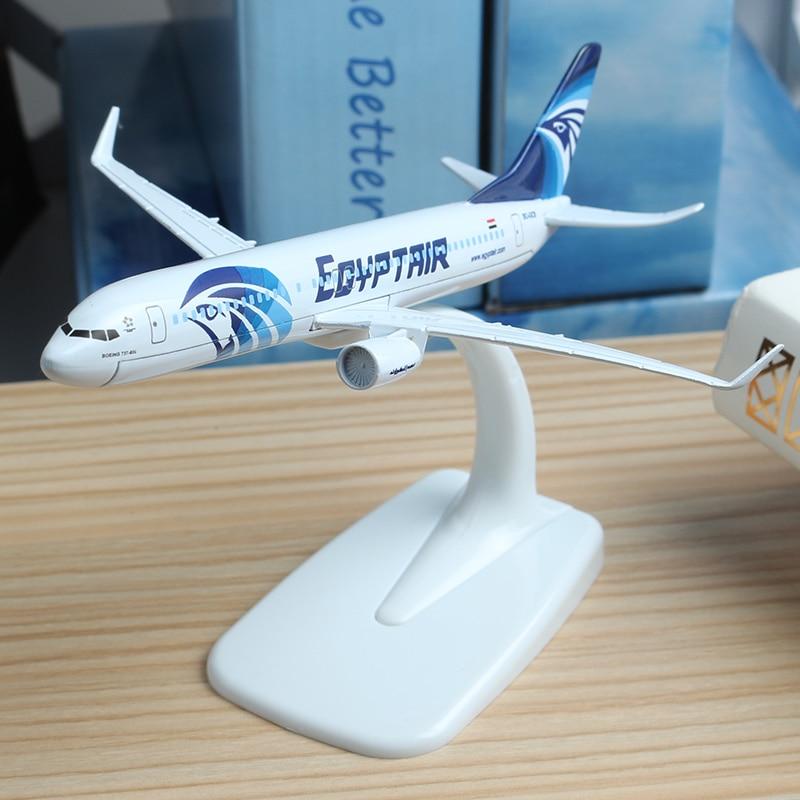 16cm 1:300 EGYPTAIR Egypt Airbus Plane Model Zinc Alloy Air Egypt Model Aviation Model Aircraft Egypt Airplane Model Stand Craft model aircraft