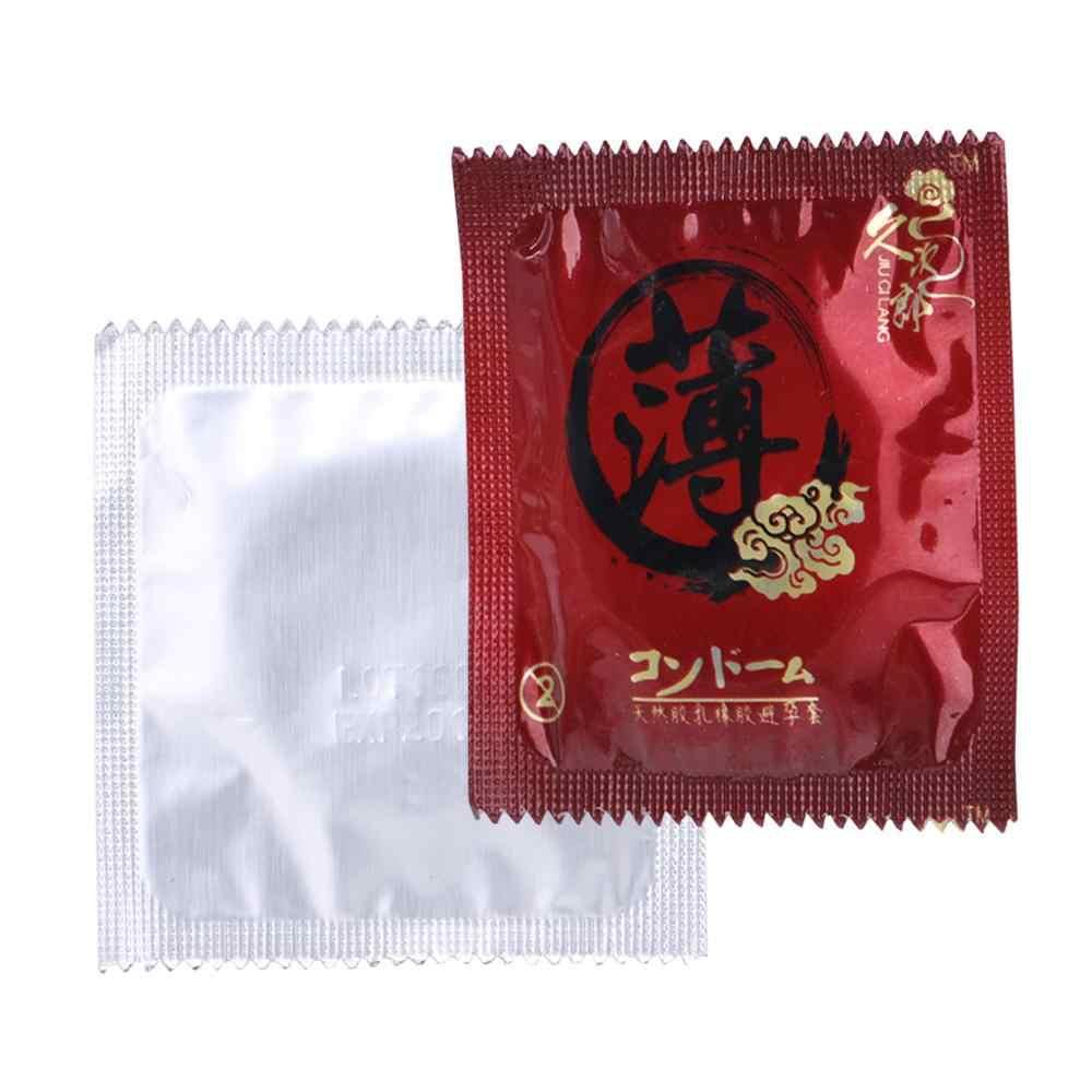 1 PC Ultra-Tipis Kondom Produk Seks Kondom Minyak Besar Lebih Aman Kontrasepsi