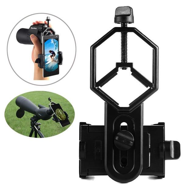 Universal Cell Phone Adapter Mount Binoculars Monocular Bracket Holder Spotting Scope Telescope and Microscope Adapter