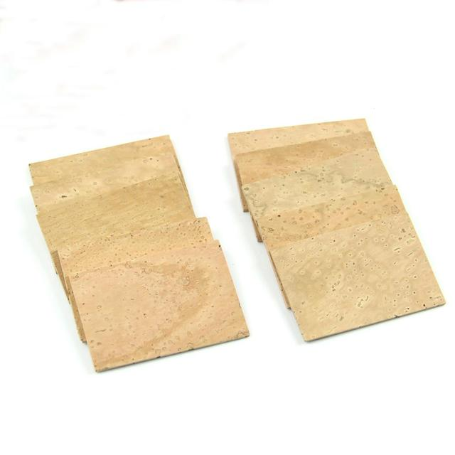 Hot 2mm Soprano Alto Sax Clarinet Joint Neck Cork Sheet Natural Useful