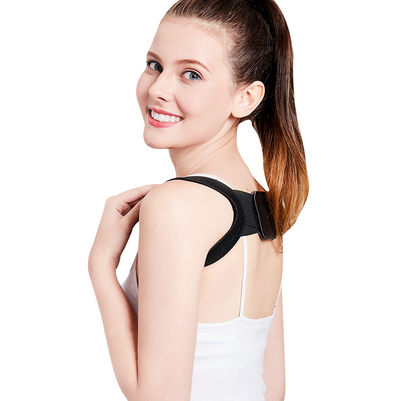 Image 2 - Back Posture Corrector Clavicle Back Support Correction Back Straight Shoulders Brace Strap with Velcro for Adult Chilren-in Braces & Supports from Beauty & Health