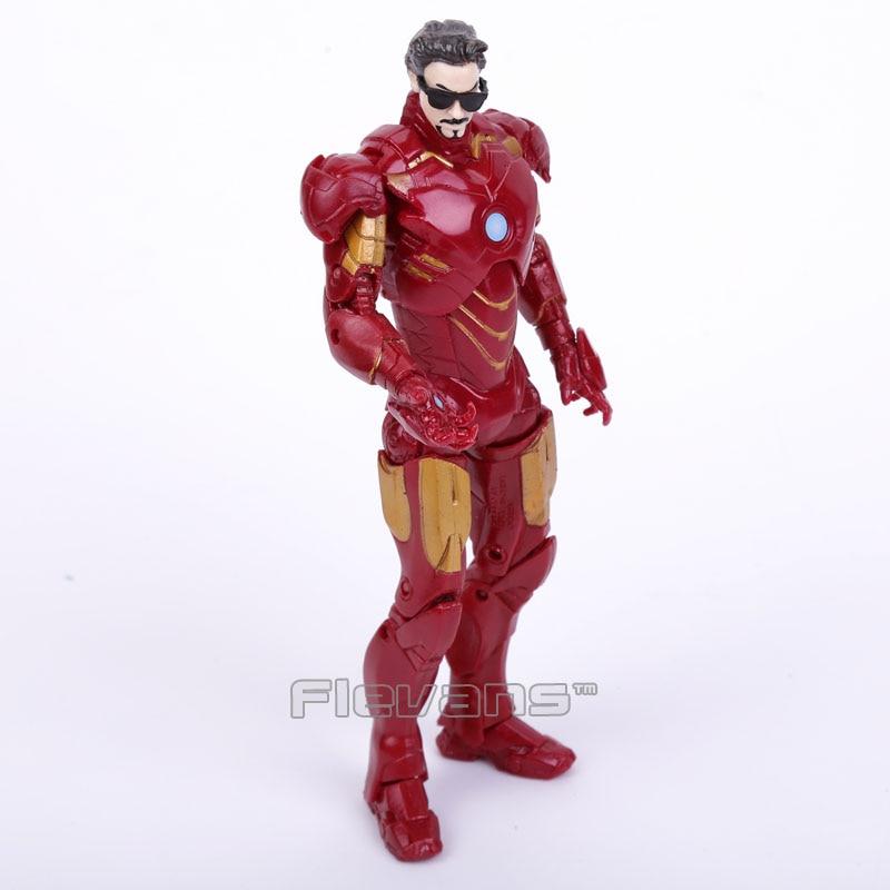 Original Good Quality Iron Man MK42 MK43 Iron Patriot Tony Stark PVC Action Figure Collectible Model Toy 16cm 5 Styles marvel the avengers stark iron man 3 mark vii mk 42 43 mk42 mk43 pvc action figure collectible model toys 18cm kt395