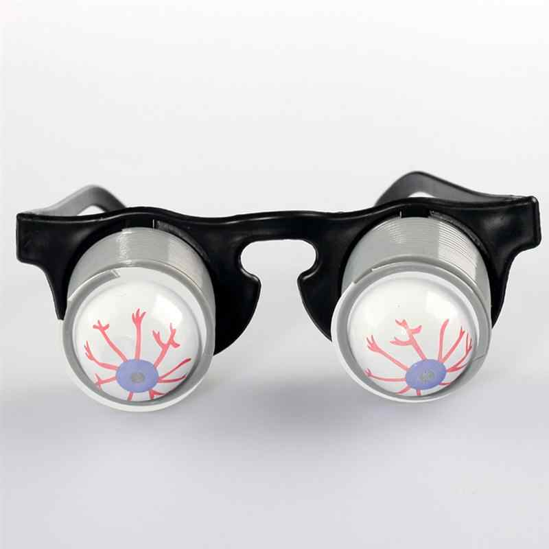 2 pcs Disfarce Engraçado Óculos Primavera Pop Fora Goo Goo Olhos Óculos para o Dia Das Bruxas Partido Do Traje (Random Globos Oculares)