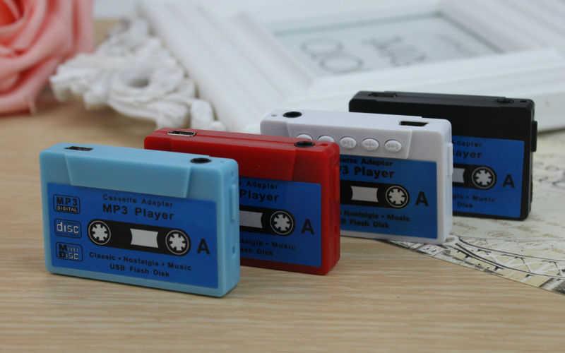 Cinta MP3 tarjeta de grabación MP3 regalo Mini reproductor de música portátil soporte 32G Micro ranura para tarjeta TF puede usar como plato de Flash USB