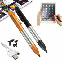 Universal Mobile Phone Stylus Aluminum Alloy 2 4mm High Precision Active Capacitance Pen Drawing Pencil For