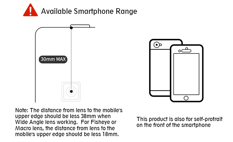Ulanzi 3 in 1 Phone Camera Lens Kit Wide Angle Macro Fisheye Lens for iPhone Samsung HUAWEI VIVO Xiaomi Smart Mobile phones 12
