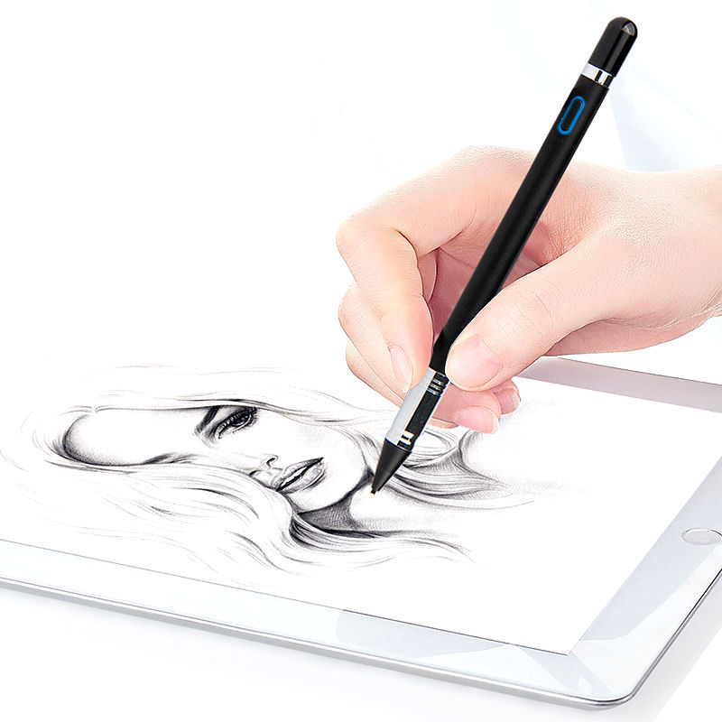 Active Stylus Touch Screen Tip Pencil For Samsung Galaxy Tab 2 3 4 S A E Pro 7.0 8.0 8.4 10.5 Note 10.1 Inch Tablet Metal Pen