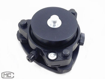 """NEW TRIBRACH WITH OPTICAL PLUMMET&ROTATING ADAPTER 5/8""""X11 MOUNT FOR GPS PRISM"""