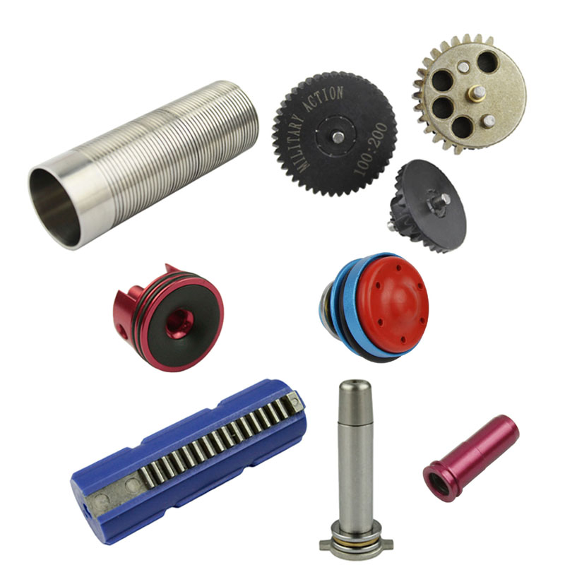 100 200 High Torque Gear Set Piston Piston Head Cylinder Cylinder Head Spring Guide Nozzle For