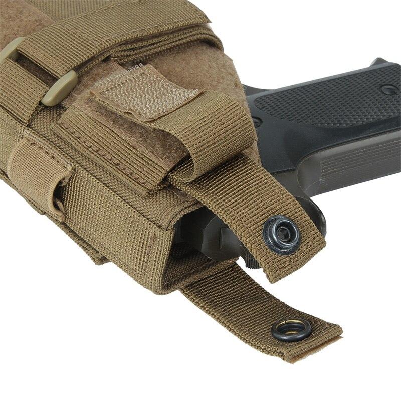 coldre pistola de treinamento coldre tático airsoft arma coldre caça acessório