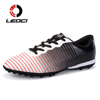Superfly Men Football Boots Indoor Soccer Shoes Women Sneakers Long Spikes Football Futsal TF Soccer Cleats