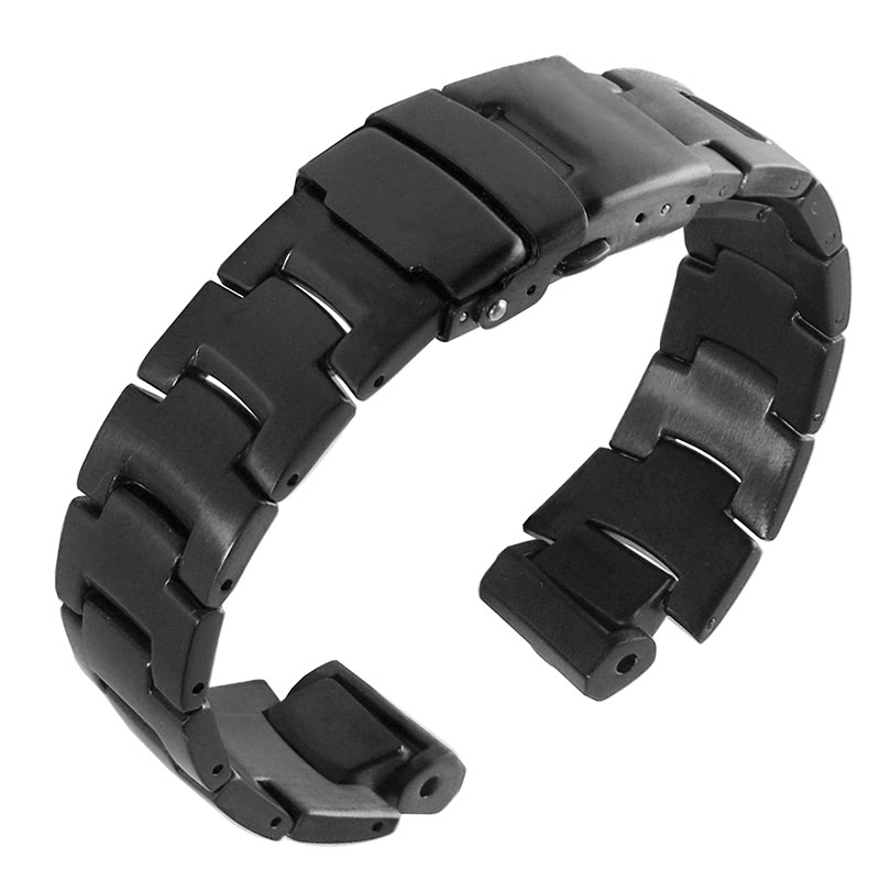 Stainless steel Strap  for CASIO PRG 300/PRW 6000/PRW 6100/PRW 3000/PRW 3100 Watch bands-in Watchbands from Watches