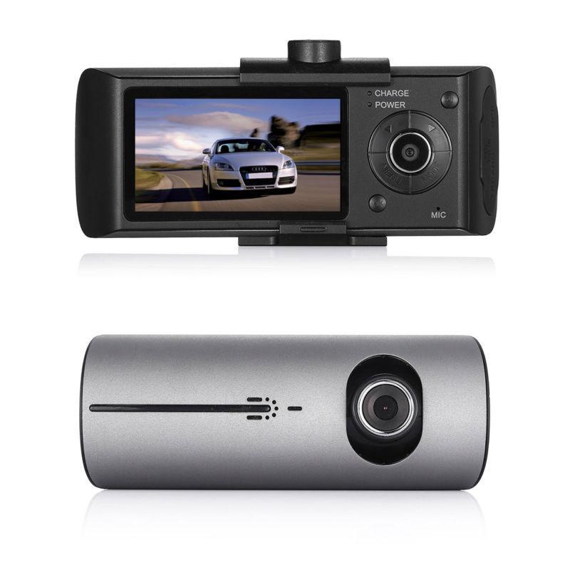 AKASO New Car DVR Camera Video Recorder R300 X3000 Dash Cam New 2.7 Vehicle Dash Camera G Sensor GPS Dual Lens Camera