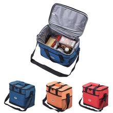 Bolsa isolante à prova d'água, bolsa de 16l multi-função com isolamento para viagem ao ar livre, piquenique, isolamento/preservação/refrigerada