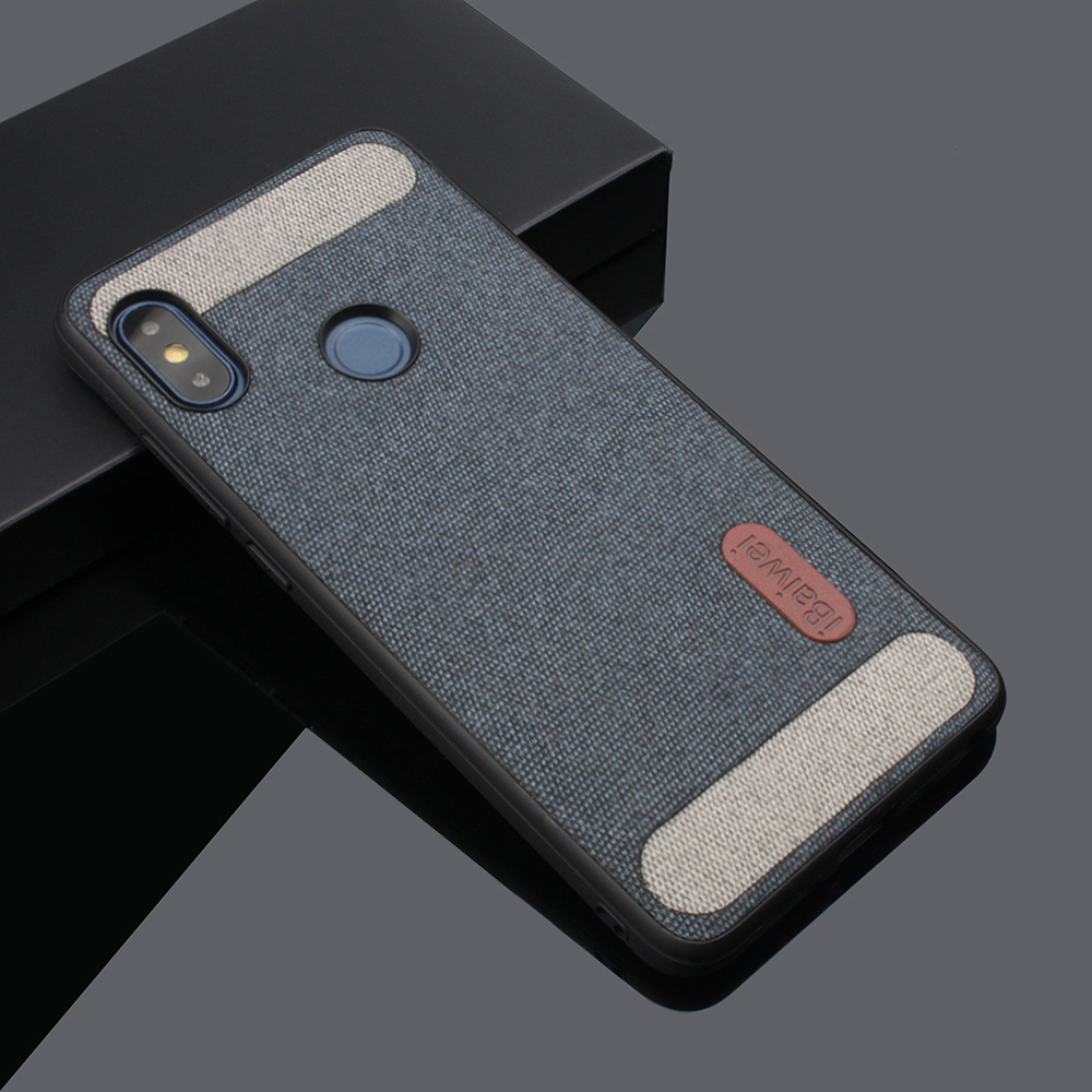 Cloth Texture Fabric Case for Xiaomi Redmi Note 7 5 6Pro 6 A <font><b>Global</b></font> POCOPHONE F1 Back Cover <font><b>Mi</b></font> <font><b>9</b></font> 8 <font><b>SE</b></font> Lite Mix 2S A1 5X TPU Case image