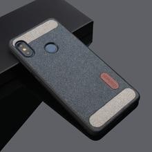 Cloth Texture Fabric Case for Xiaomi Redmi Note 8 Pro 7 5 6
