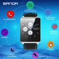 SANDA Smart uhr CK19 IP67 Wasserdicht Gehärtetes Glas Herz Rate Monitor Blutdruck Fitness Tracker Männer Frauen Smartwatch Digitale Uhren Uhren -
