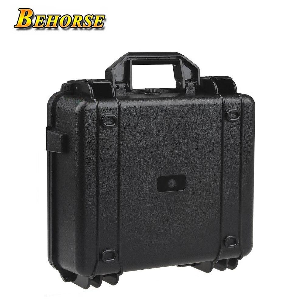 Étui de transport Portable DJI Mavic Pro coque rigide Drone boîte sac carbone pour accessoires DJI Mavic Pro noir