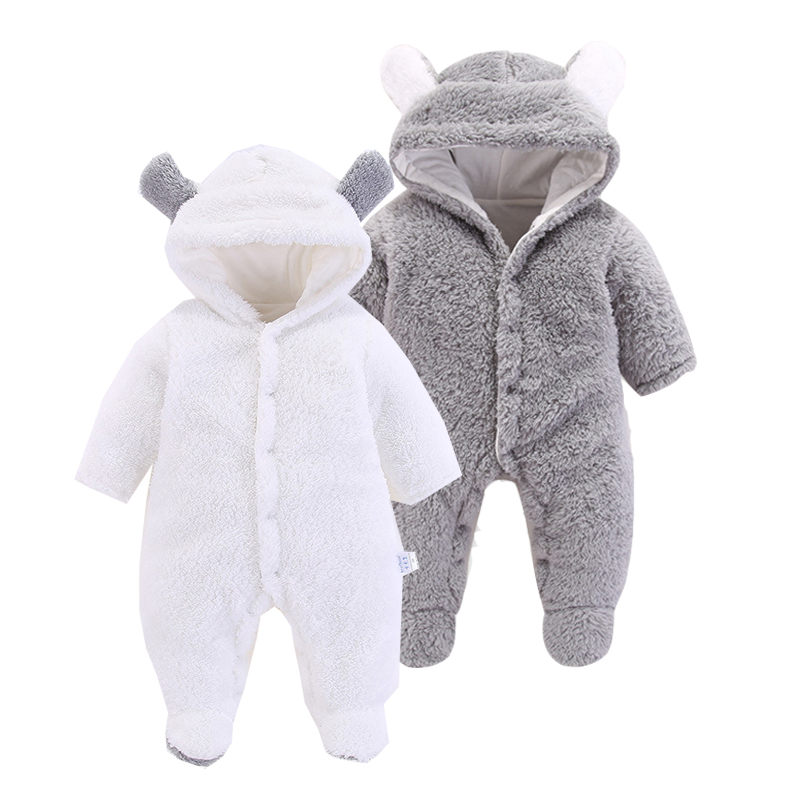 Baby Clothing! 2019 Sping Autumn New Girls   Rompers   Soft Baby Newborn Clothes Cute Warm Jumpsuit For 3-6-12m Boy And Girls