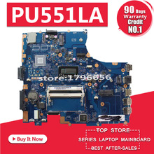 PU551LA Motherboard I7-4500 CPU For ASUS PU551L PU551LA PU551LD laptop Motherboard PU551LA Mainboard PU551LA Motherboard test ok i7 7500 8gb gt940m rev 3 1 3 0 ddr4 x556uv x556uqk motherboard for asus x556u x556uj x556uf x556ur laptop motherboard mainboard